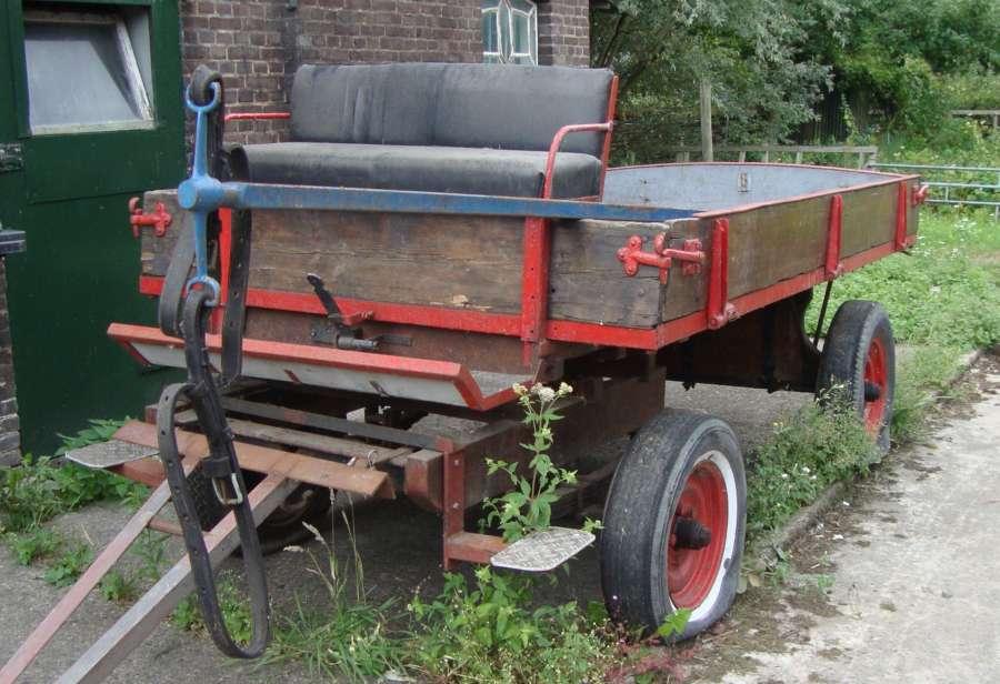 Super Boerenwagen met triangel - De Lange Slag PJ-27