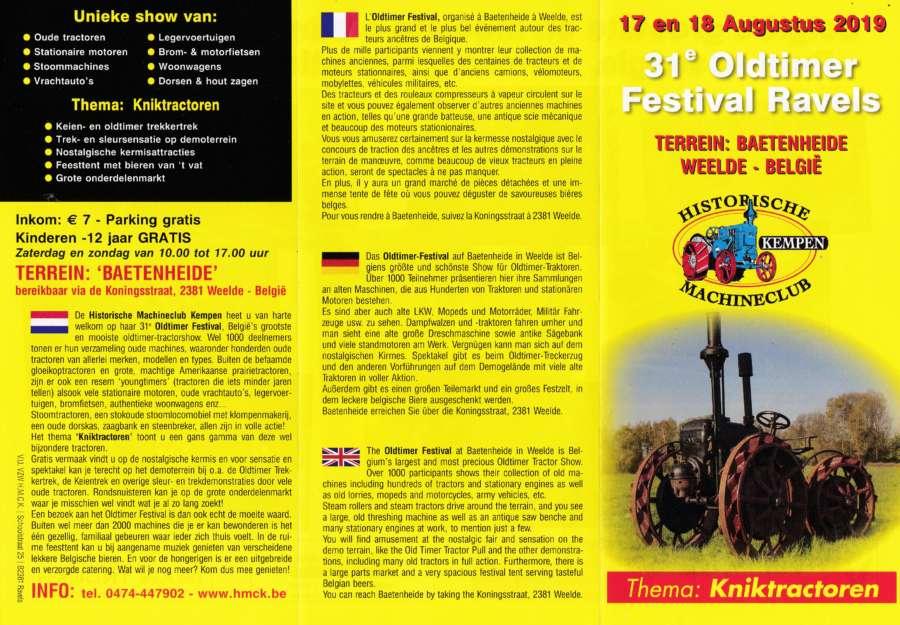 31e Oldtimer Festival Ravels